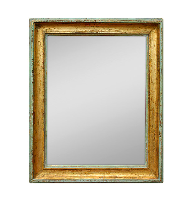 Antique french mirror, provencal style, late 19th century